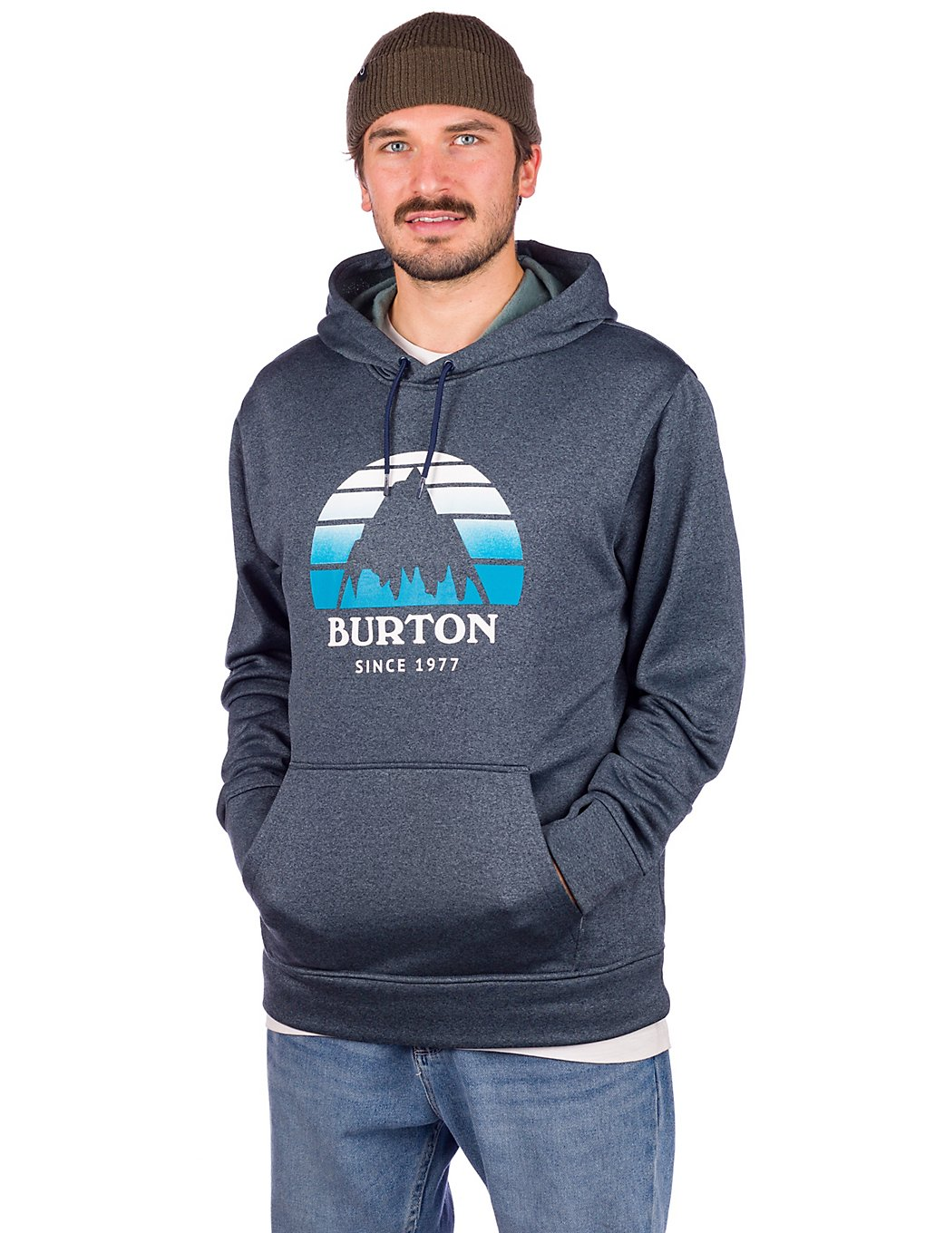 Burton Oak Hoodie dress blue heather