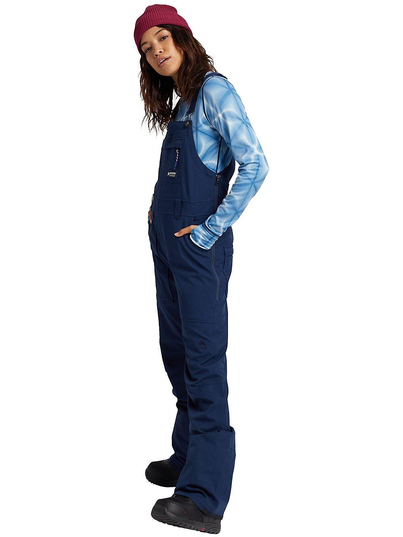 Burton Avalon Tall Bib Pants dress blue