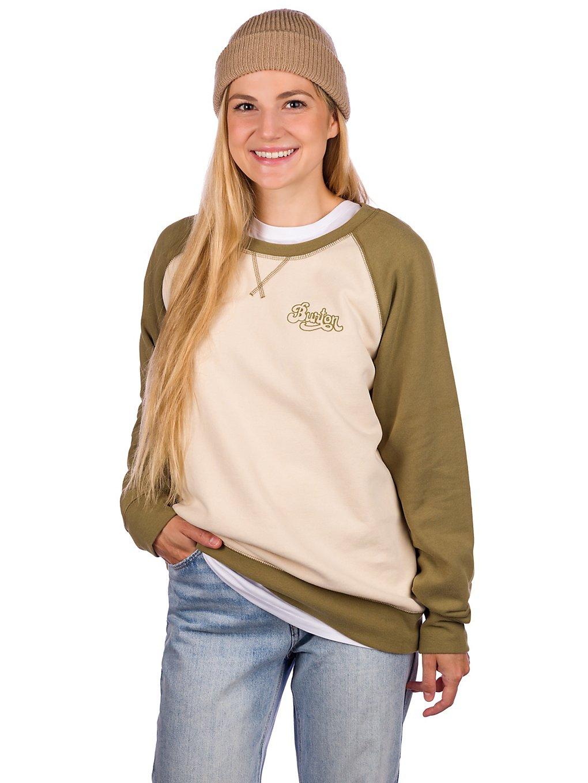 Burton Keeler Crew Sweater blanc