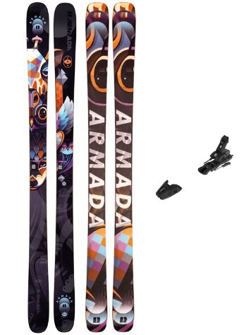 Armada Arw 86mm 156 + N L10 2021 Set de Freeski