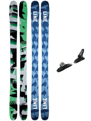 Line Chronic 95mm 178 + Griffon 13 ID 2021 Set de Freeski