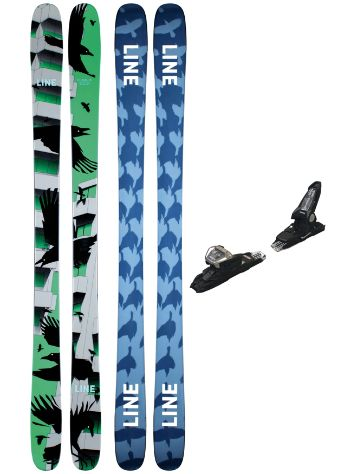 Line Chronic 95mm 185 + Griffon 13 ID 2021 Freeski-Set