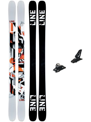 Line Tom Wallisch Pro 90mm 164 + Squire 11 ID 2021 Set Freeski