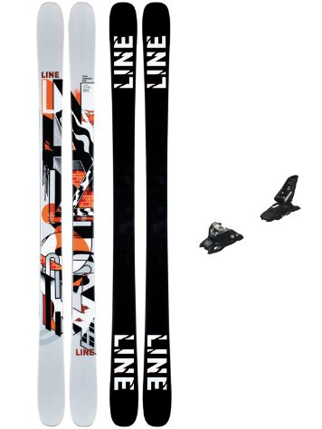 Line Tom Wallisch Pro 90mm 171 + Squire 11 ID 2021 Freeski-Set