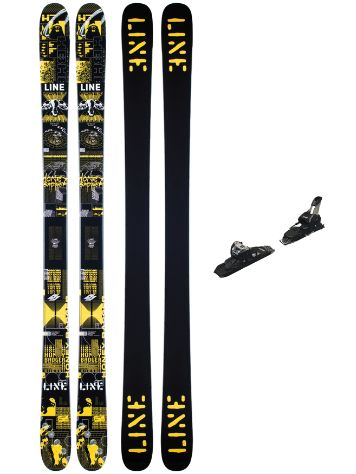 Line Honey Badger 92mm 172 + Squire 11 ID 2021 Ski set