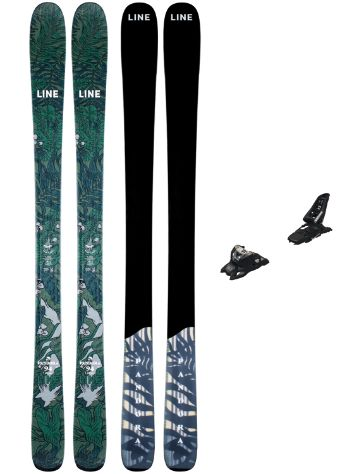 Line Pandora 94mm 165 + Squire 11 ID 2021 Ski Set