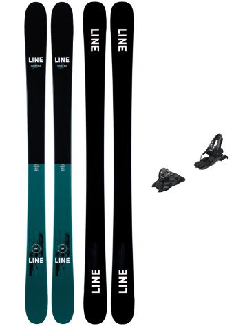 Line Honey Bee 92mm 166 + Free Ten ID 2021 Set de Freeski