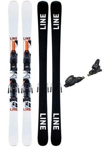 Line Wallisch Shorty 72mm 139 + FDT 7.0 2021 Freeski-Set