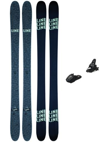 Line Ruckus 82mm 145 + Free 7 2021 Ski Set