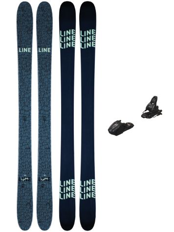 Line Ruckus 82mm 155 + Free 7 2021 Ski set
