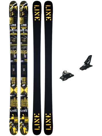 Line Honey Badger 92mm 177 + Squire 11 ID 2021 Ski set