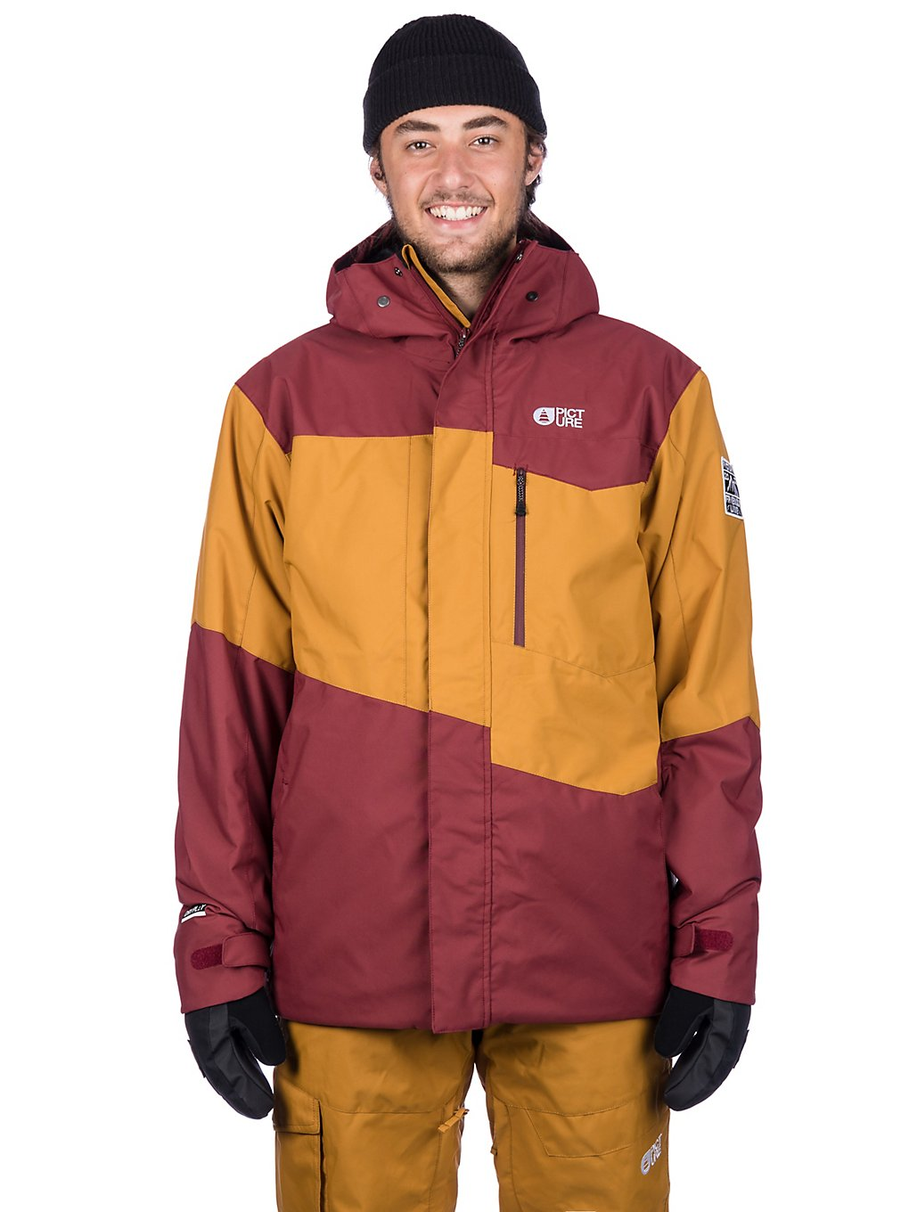 Picture Styler Jacket camel ketchup