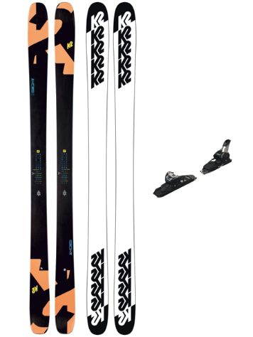 K2 Sight 88mm 159 + Squire 11 ID 2021 Freeski-Set