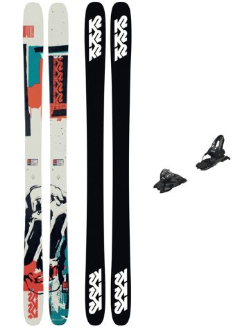 K2 Press 86mm 169 + Free Ten 2021 Freeski-Set