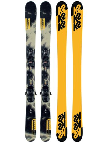 K2 Poacher Jr 139 + FDT 7.0 2021 Freeski-Set