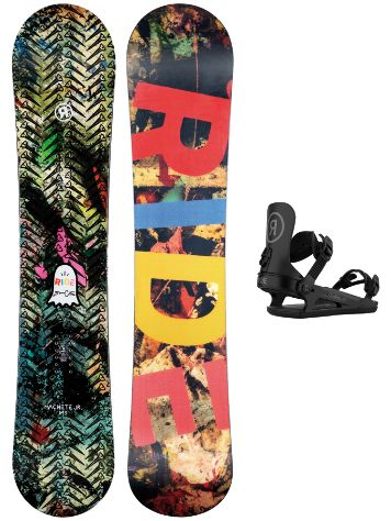 Ride Machete Jr 130 + K1 S 2021 Snowboard-Set