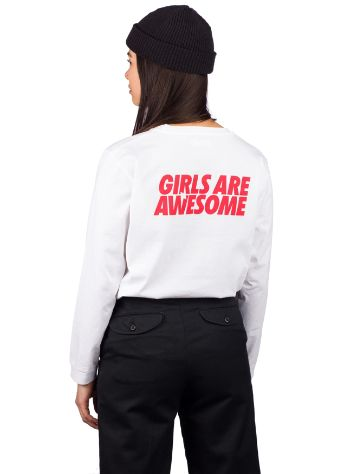 Girls Are Awesome When In Doubt Longsleeve