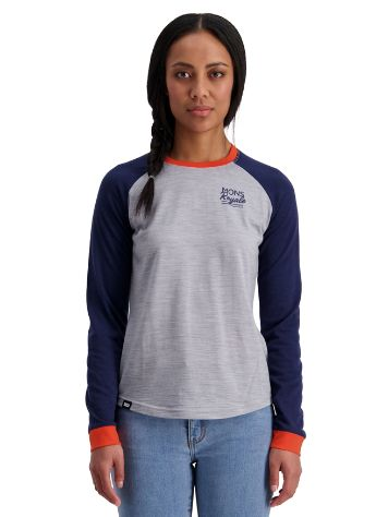 Mons Royale Merino The Go To Raglan Tech Tee LS
