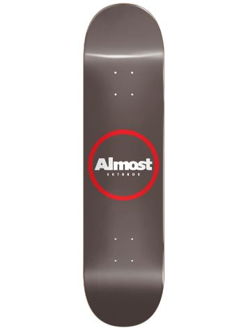 "Almost Red Ring Logo 8.5"" Skateboard deck"