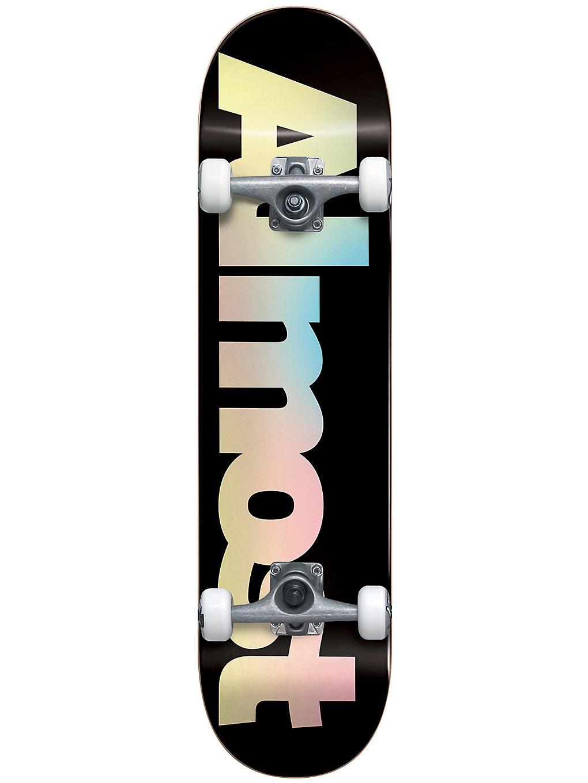 skate complet Almost pastel