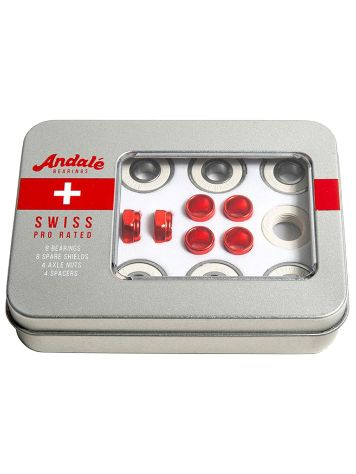 Andale Bearings Swiss Tin Box Skateboardová ložiska