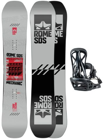 Rome Mechanic 159 + United L 2021 Set de Snowboard