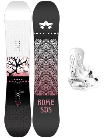 Rome Royal 144 + Shift S 2021 Set de Snowboard