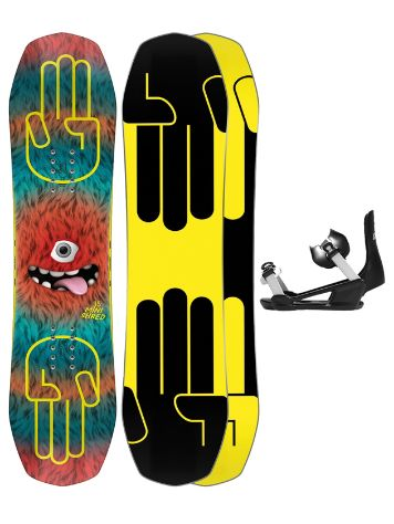 Bataleon Minishred 95+ Minishred SM 2021 Snowboard-Set