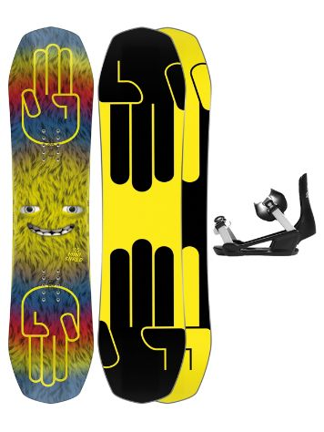 Bataleon Minishred 105+ Minishred SM 2021 Snowboard-Set