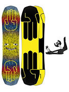 Minishred 105+ Minishred SM 2021 Set de Snowboard