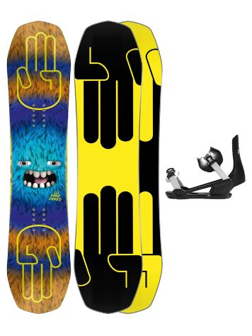 Bataleon Minishred 115 + Minishred ML 2021 Snowboard-Set