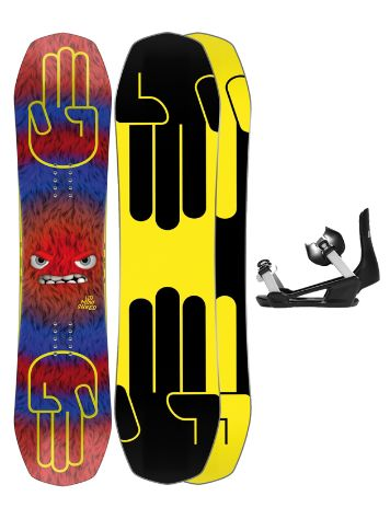Bataleon Minishred 120 + Minishred ML 2021 Snowboard-Set