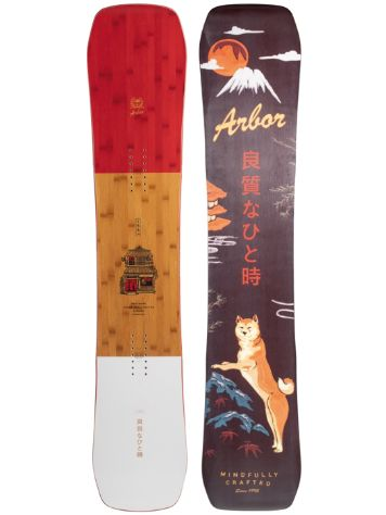 Arbor Westmark Camber Frank April 156 2021 Snowboard
