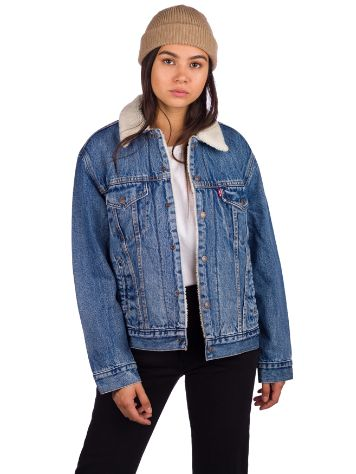 Levi's Ex-Br Sherpa Trucker Giacca