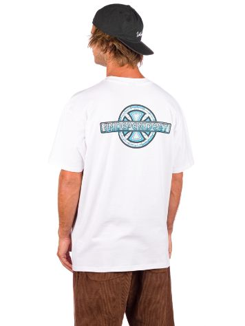 Independent Stained Glass Cross T-Shirt