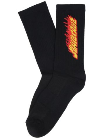 Santa Cruz Flaming Stripe Socks