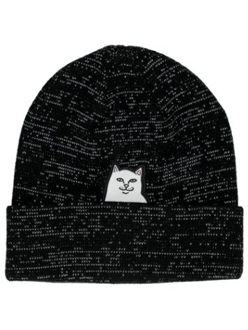 RIPNDIP Lord Nermal Reflective Yarn Beanie