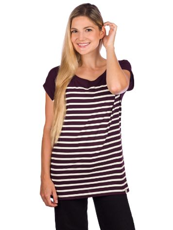 Iriedaily Cat Stripe T-Shirt