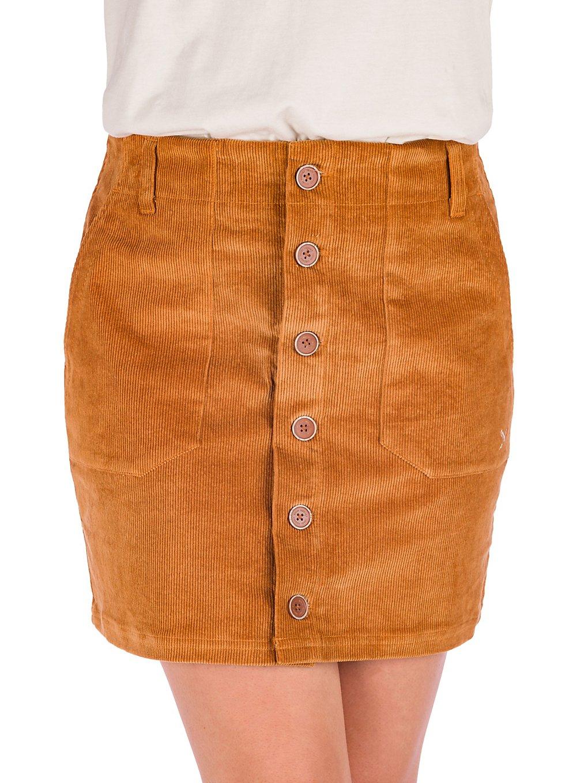 Iriedaily Tily Cord Skirt cognac