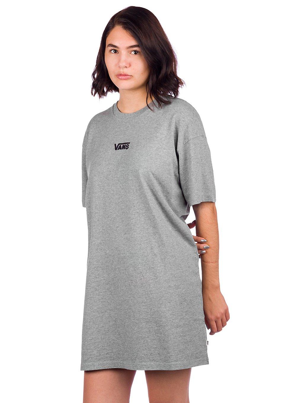 Vans Center Vee Tee Dress grey heather