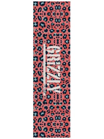 Grizzly Pink Leopard Stamp Griptape