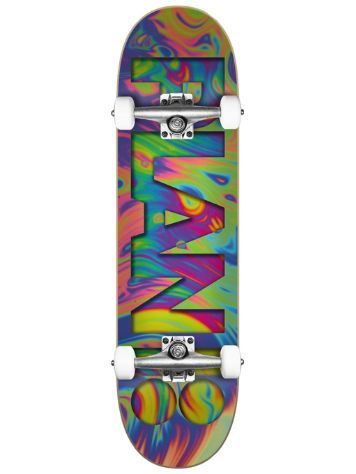 "Plan B Team Psychedelic 7.75""x31.6"" Skateboard"