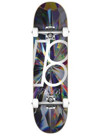 "Plan B Team Kaleidoscope 8.0""x31.85"" Skateboard"