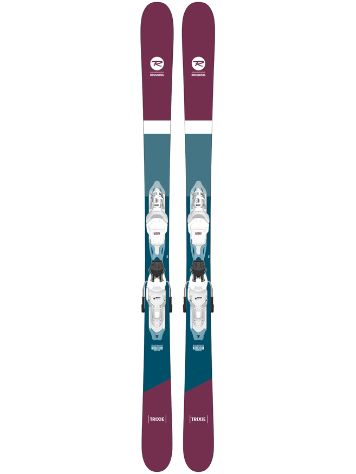Rossignol Trixie 80mm 158 + Xpress 10 GW 2021 Freeski-Set