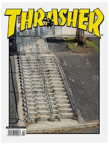 Thrasher Issues April 2020 Magazin