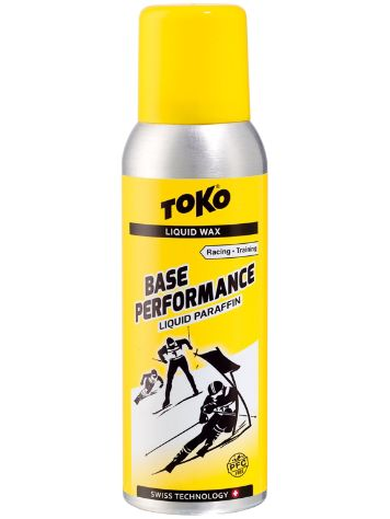 Toko Base Performance Liquid Paraffin Yellow -4°C / 10°C Smøring