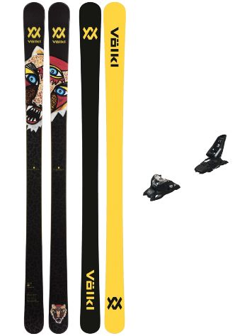 Völkl Bash Flat 86mm 180 + Squire 11 ID 90mm 2021 Freeski-Set