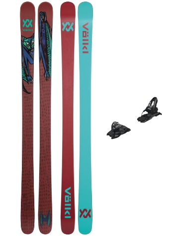 Völkl Bash 81mm Flat 158 + Free Ten ID 85mm 2021 Set de Freeski