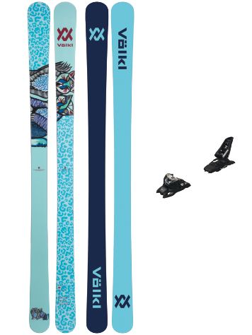 Völkl Bash Flat 86mm 156 + Squire 11 ID 90 2021 Set de Freeski