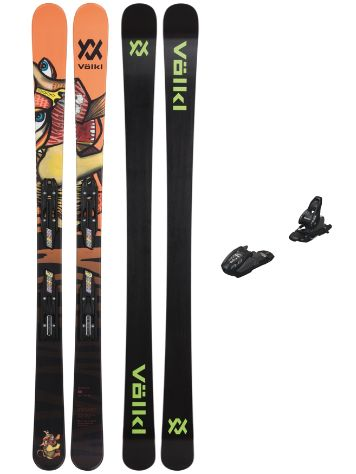 Völkl Revolt Junior Flat 74mm 148+Free 7 95mm 2021 Freeski-Set